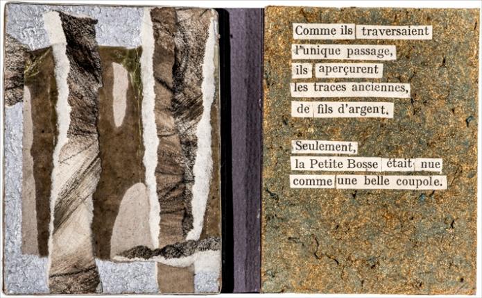 FRAGMENTS, 2017 d'après La grande Crevasse, R. Frison-Roche - Arthaud